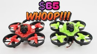 TOO COLD TO FLY?? FLY INDOORS | Makerfire MICRO FPV Drone Review