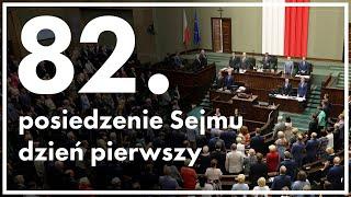 Film do artykułu: 82. posiedzenie Sejmu: Nowi...
