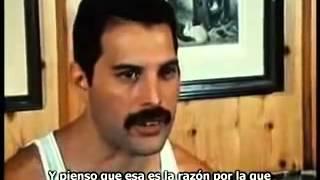 Entrevista a Freddie Mercury realizada en 1984 y subtitulada al español (Primera Parte)