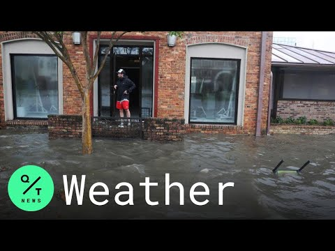 Storm Surge and Rain From Hurricane Sally Flood Pensacola, Florida