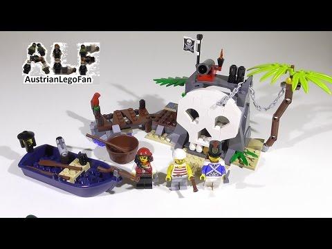 Vidéo LEGO Pirates 70411 :  L'île au trésor