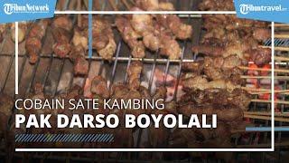 Wajib Sarapan Sate Kambing Pak Darso Boyolali, Kuliner Populer dan Penyajiannya Unik