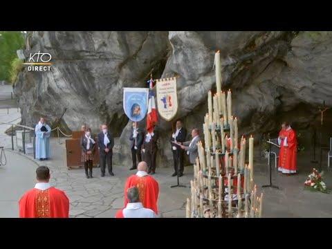 Messe à Lourdes du 5 juin 2020