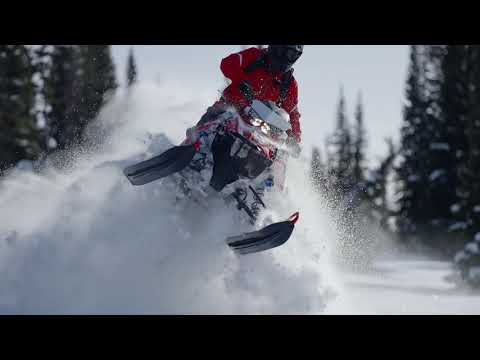2022 Polaris Patriot Boost 850 RMK KHAOS Matryx Slash 155 SC in Trout Creek, New York - Video 1