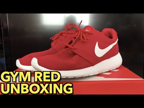 Roshe One Unboxing | Gym Red