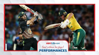 Sar Utha Ke Jiyo Performances - Maxwell and de Villiers