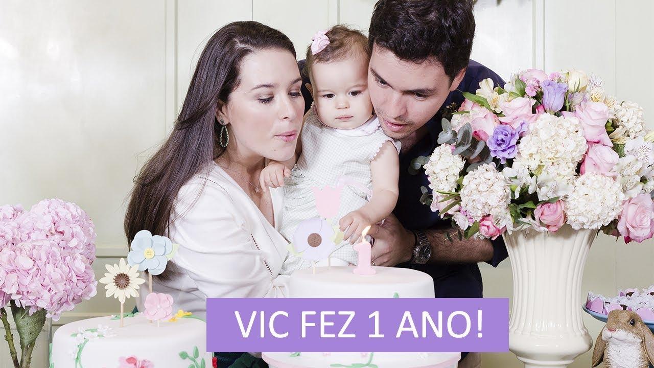 Victoria fez 1 ano!