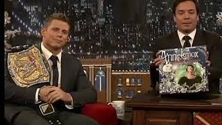 Annie Lennox God Rest Ye Merry Gentlemen The Tonight Show with Jimmy Fallon December 16, 2010