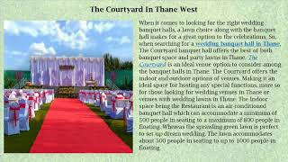 Strikingly Wedding And Party Lawns In Mumbai