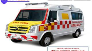 Get Medilift Ambulance Service in Mokama and Buxar at Low Cost