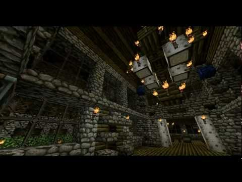 The Wolf Den Shakespearean Cottage Minecraft Project