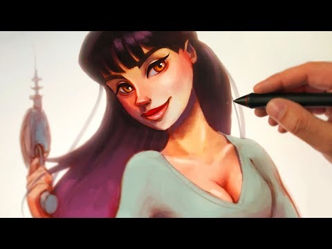 The Ultimate Digital Painting Course - YouTube