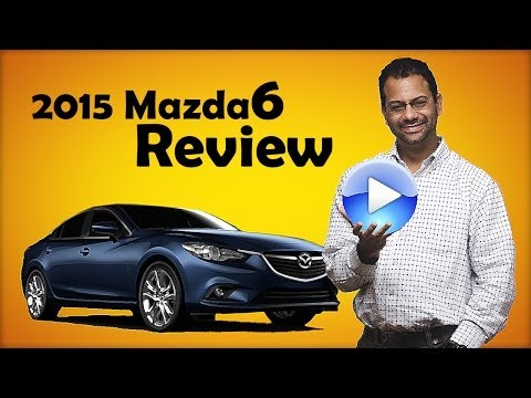 2015 Mazda 6 Test Drive and Car Review - YouTube