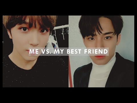 me vs. my best friend: favourite kpop songs from different artists