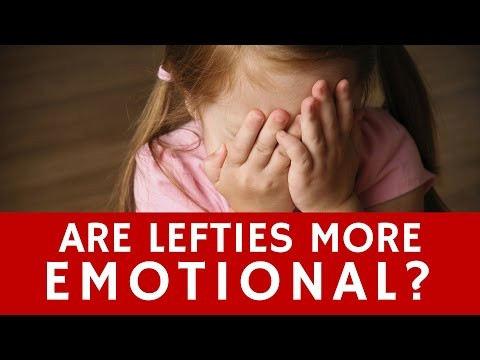 Are Lefties More Emotional and Shy than the Right-Handed?