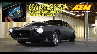 CD-7 Carbon Plug & Play Adapter for Holley EFI!