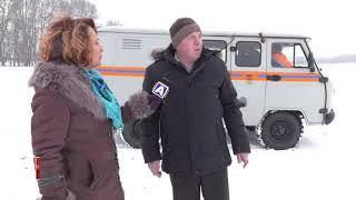 МЧС предупреждает: выход на лед опасен - Абакан 24