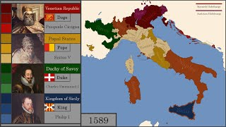 The History of Italy : Every Year