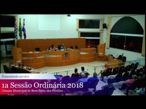 1ª Sessão Ordinária - 2018