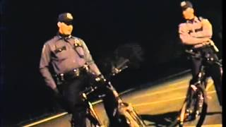 Hillsboro Police Mobile Command Center Rookies on Bicycles - Oregon April, 1993