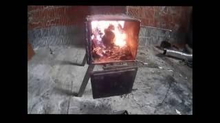 Ракетная печь всеядная Rocket stove omnivorous