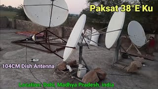 Paksat 38@East Ku band Satellite Tracking and Full Details