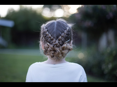 Flip Over Braid | Athletic Hairstyle | Cute Girls Hairstyles