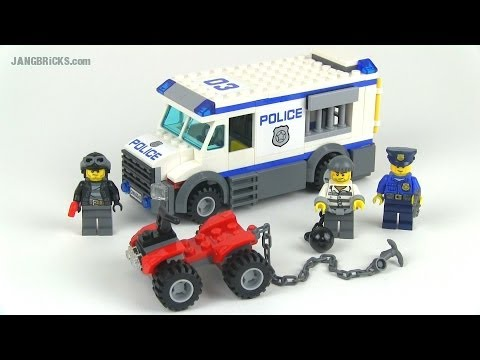 Lego City Police Prisoner Transporter 7286