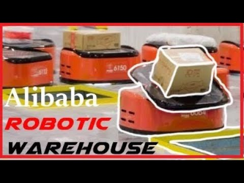 Alibaba Warehouse is run almost entirely by Robots|| Robotic Automation