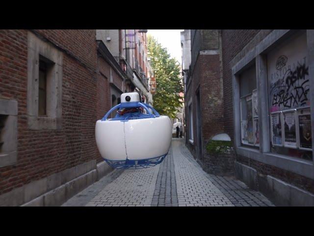 Fleye – автономный робот-дрон индивидуального пользования