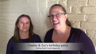 Caelan & Zac's birthday party