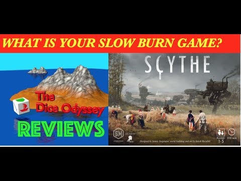 The ultimate slow BURN Game review by the Dice Odyssey