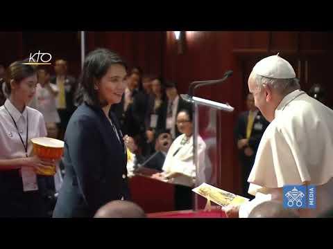 Rencontre avec les responsables chrétiens et d'autres religions