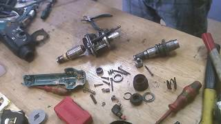How to repair disassemble Makita HR2450 rotary hammer drill