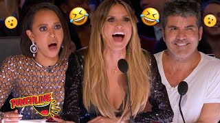 FUNNY MAGICIANS With Comedy Up Their Sleeve! America's Got Talent Auditions