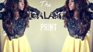 Outfit If The Day : The Galaxy Print (feat.Romwe.com)