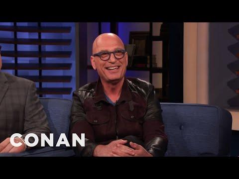 "Why Howie Mandel Is Still On ""America's Got Talent"" - CONAN on TBS (видео)"