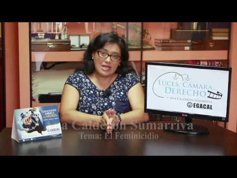 Programa 13 - El Feminicidio - Luces Cámara Derecho - EGACAL