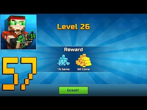 Pixel Gun 3D - Gameplay Walkthrough Part 57 - Level 26