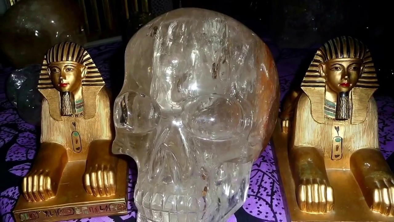 Crystal Skull Energy