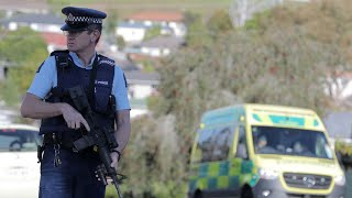 video: Gunman on the run after police officer is killed and another seriously injured in New Zealand