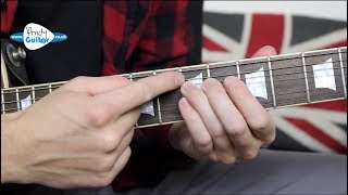 How To Bend A String On Guitar