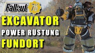 EXCAVATOR Power Rüstung   FUNDORT   Fallout 76