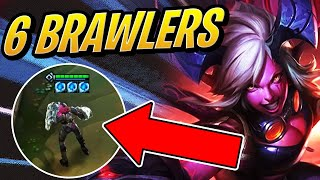 This 6 BRAWLERS Team Is TOO OVERPOWERED?! | Teamfight Tactics | TFT | League of Legends Auto Chess