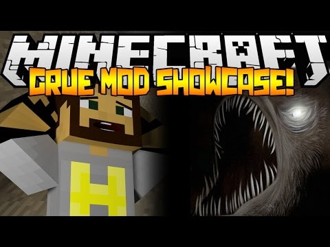 The Grue Mod! - Minecraft Mod Showcase!