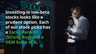 Wednesday Leaves a Mark on Wall Street: 5 Low Beta Picks