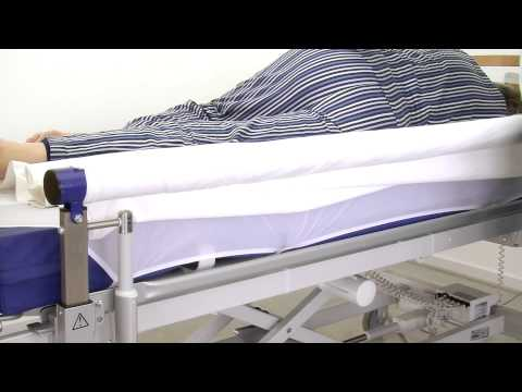 Changing the sheet on an occupied bed using VENDLET V5 and V5+