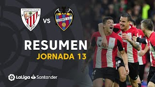 Resumen de Athletic Club vs Levante UD (2-1)