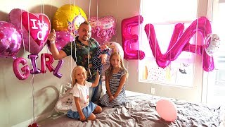 Мама и Baby ЕДУТ ДОМОЙ СЮРПРИЗ ПОДАРОК от Николь и Алиса ? Surprise for Mommy and Baby Eva
