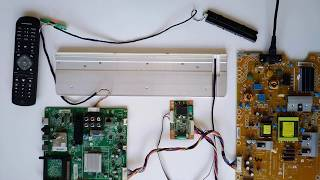 LED драйвер DARFON 4H+V3416.001 /A2, V341-001 (002..005) для телевизора Philips 32PFL3517H/12 от компании art-techservice - видео